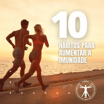 10 hábitos para aumentar a imunidade